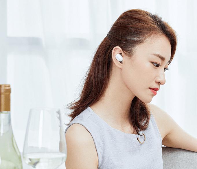 Ultralekkie i wygodne słuchawki QCY