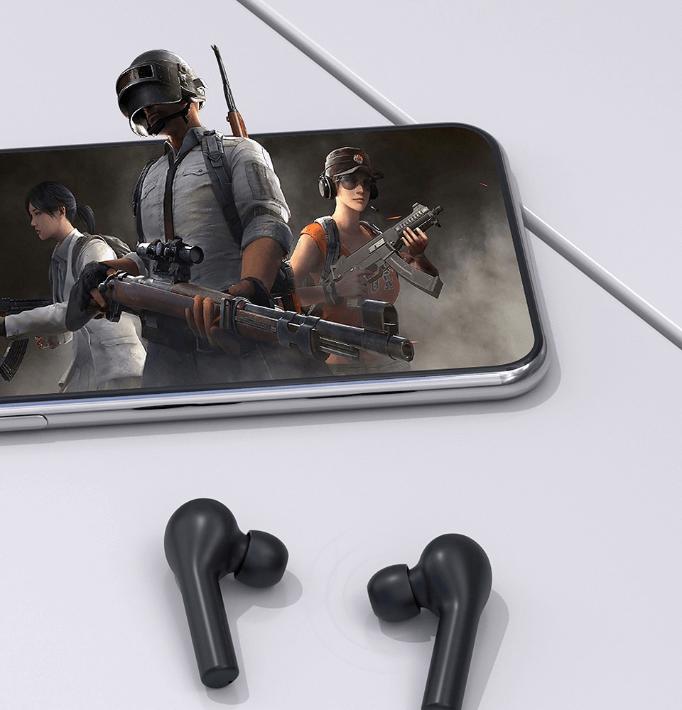 Tryb gaming w słuchawkach qcy t5
