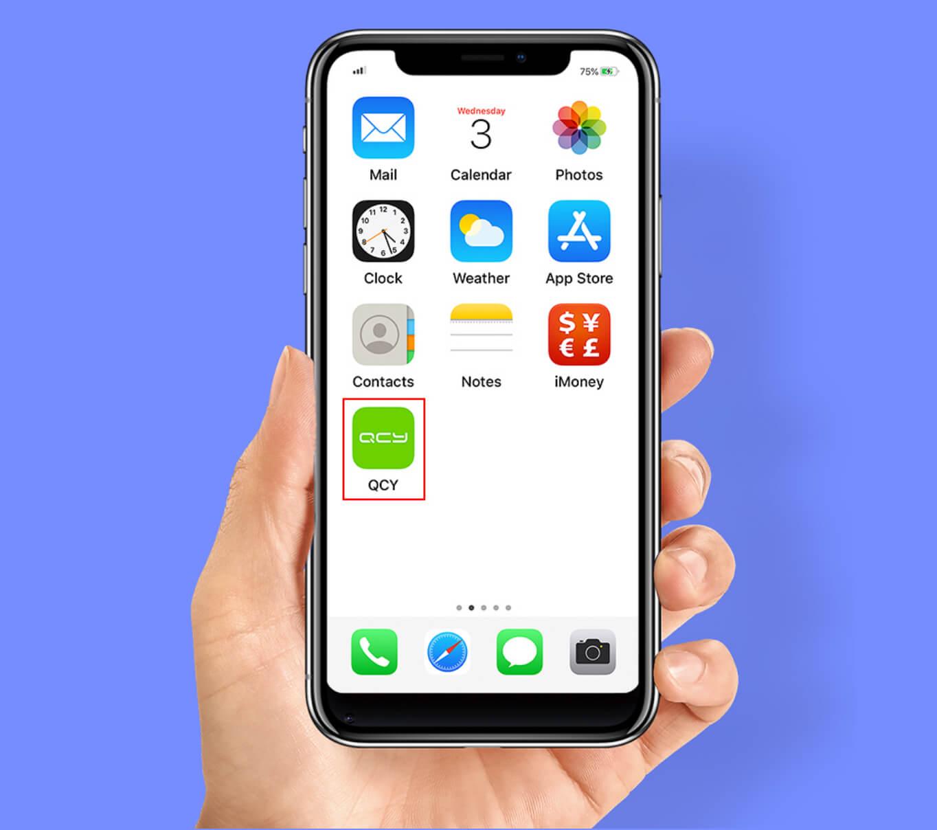 Aplikacja na telefon QCY
