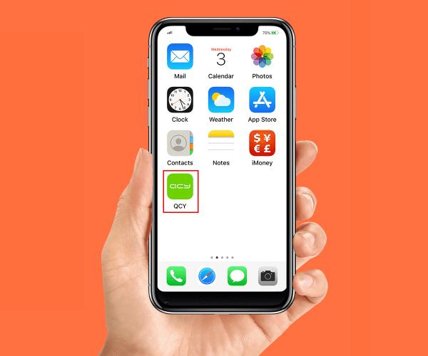 Aplikacja na smartfon QCY